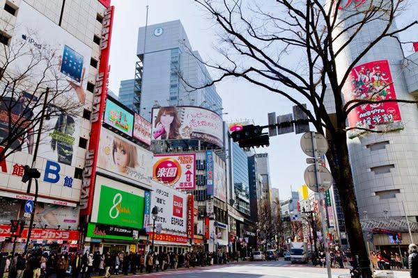 แหล่งช้อปปิ้งในประเทศญี่ปุ่น