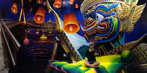 เที่ยวพัทยา Art in Paradise  พิพิธภัณฑ์ศิลปะแบบ 3D ที่ผู้เข้าชมสามารถถ่ายรูปเล่นกับภาพต่าง ๆ ได้อย่างสนุกสนาน