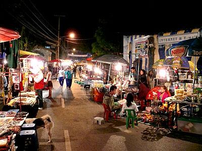 สถานที่ท่องเที่ยวปาย จังหวัดแม่ฮ่องสอน ที่สวยงามมาก คือ ตลาดถนนคนเดินกลางคืนเมืองปาย