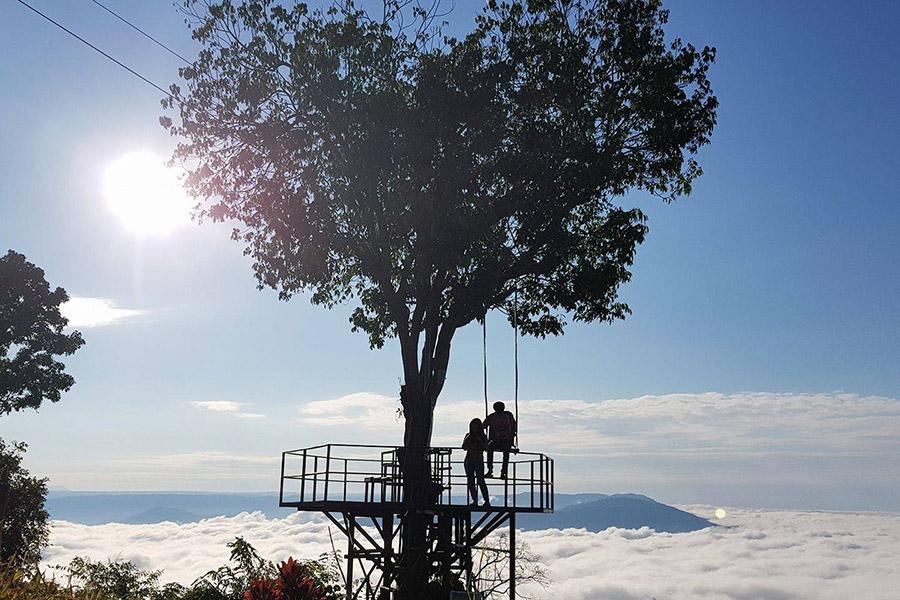 บ้านสวนภูรักไทย จังหวัดพิษณุโลกธรรมชา ถ่ายภาพวิวสวยๆ