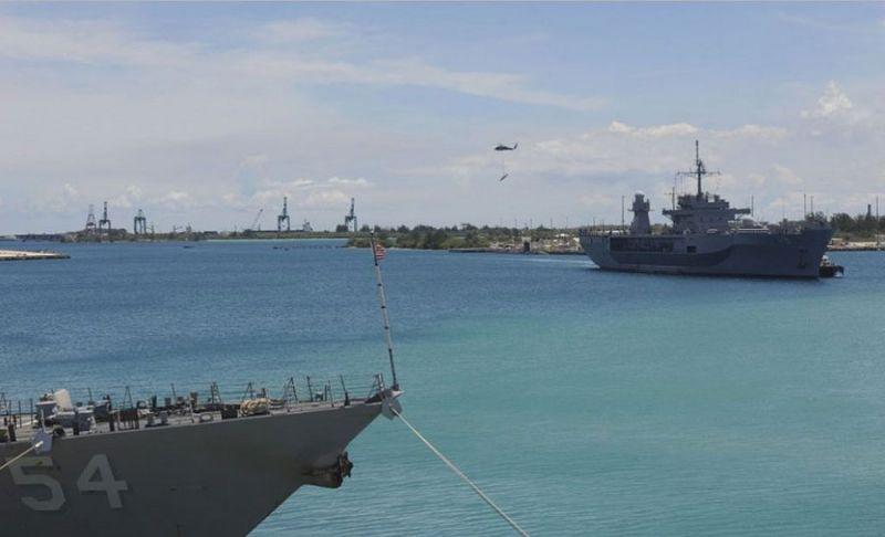 เกาะกวม-จุดยุทธศาสตร์สำคัญ อยู่ในมหาสมุทรแปซิฟิก
