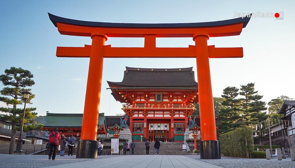 ประเทศญี่ปุ่น จะเต็มไปด้วยวัดและศาลเจ้า