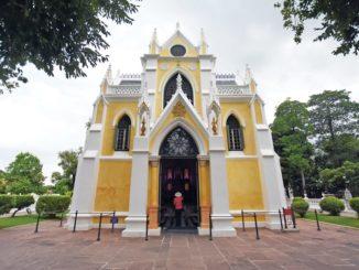 วัดนิเวศธรรมประวัติราชวรวิหาร วัดไทย ที่คล้ายโบสถ์คริสต์