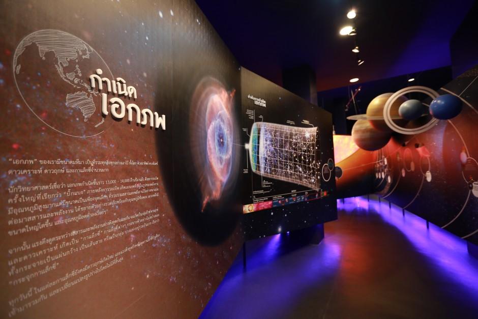 Space Inspirium มีโซนจำลองที่ได้รับความรู้มากมาย