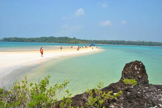 ทะเลตราด ทะเลที่มีหาดทรายสวย