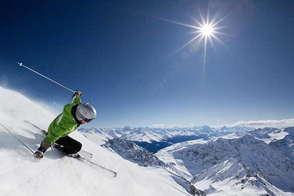วิธีการเล่นสกี เลือกเทือกเขาระดับต่ำ