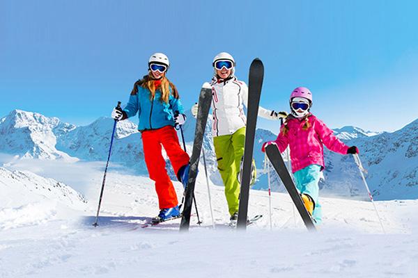 วิธีการเล่นสกี