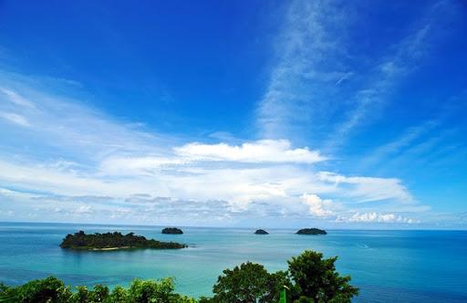 สถานที่ท่องเที่ยวเกาะช้าง