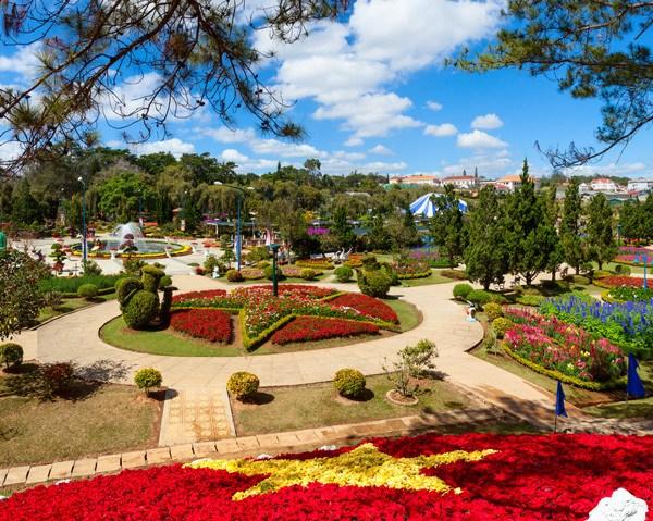 สวนดอกไม้เมืองดาลัด