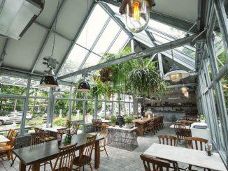 คาเฟ่สไตล์ Glass Cafe ในกรุงเทพ