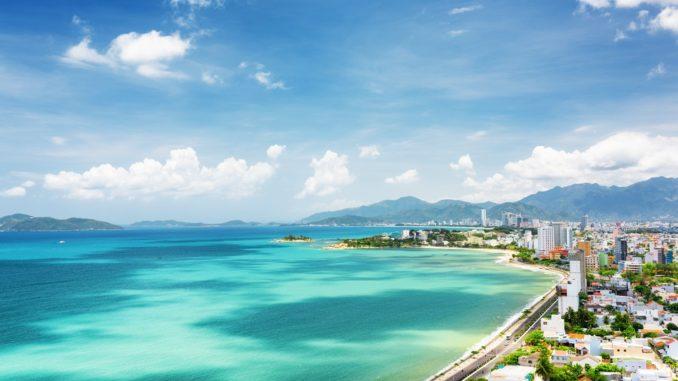 หาดญาจาง ทะเลเวียดนามใต้