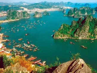 อ่าวฮาลอง ทะเลที่สวยงามที่สุดในประเทศเวียดนาม
