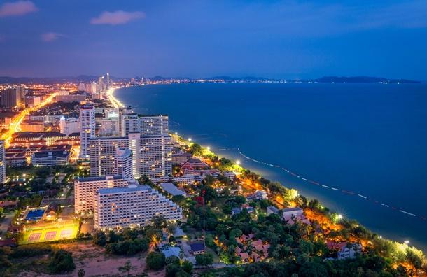 เมืองท่องเที่ยวในประเทศไทย