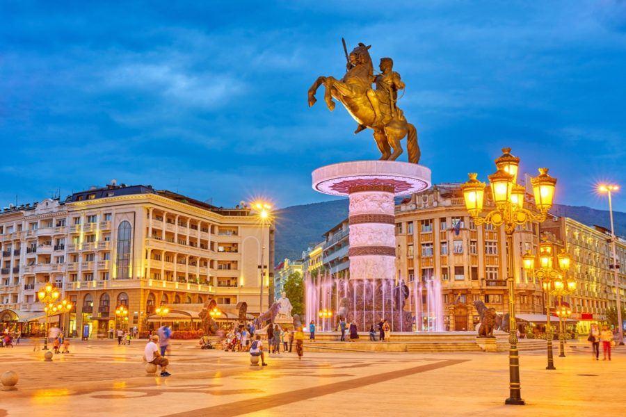 เมืองหลวง Skopje