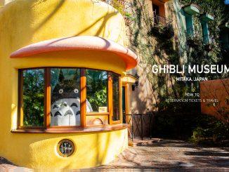 พิพิธภัณฑ์จิบิ กับการไปเจอกับโตโตโร่แอนนิเมชั่นชื่อดังของประเทศญี่ปุ่น