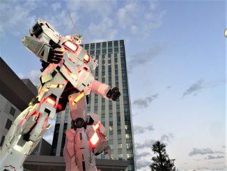 เกาะโอไดบะ เกาะฝีมือมนุษย์เมืองหุ่นยนต์ สำหรับคนรักกันดั้ม