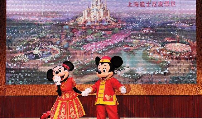 Shanghai Disneyland สวนสนุกที่ผสมผสานระหว่างดิสนีย์กับวัฒนธรรมจีน