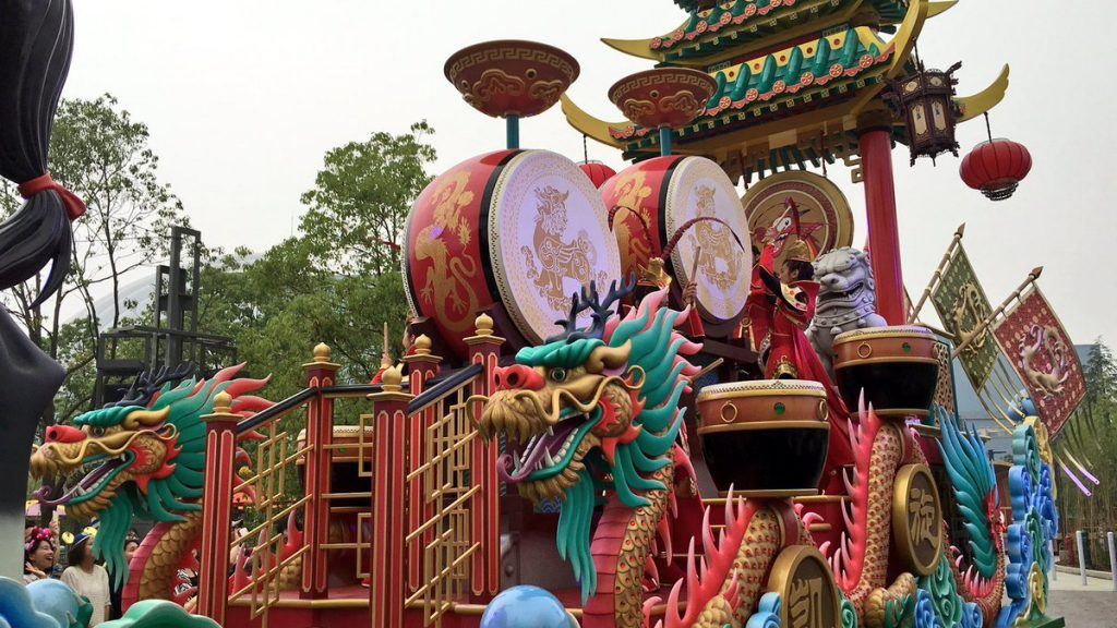 Shanghai Disneyland โซนเครื่องเล่นธีมแอนิเมชั่น