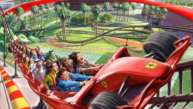 Ferrari World Abu Dhabi สวนสนุกที่มี Formula Rossa อันรวดเร็ว