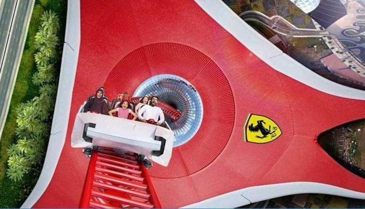 Ferrari World Abu Dhabi สวนสนุกอันดับต้นๆของโลก