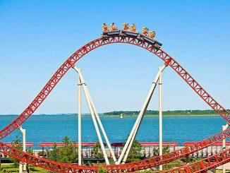 Kings Island ราชาสวนสนุกแห่งรัฐโอไฮโอ้ของ Cedar Fair