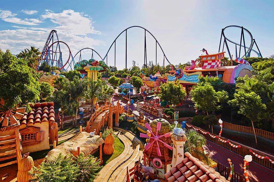 PortAventura Park สวนสนุกที่มีเครื่องเล่นสำหรับครอบครัวมากขึ้น