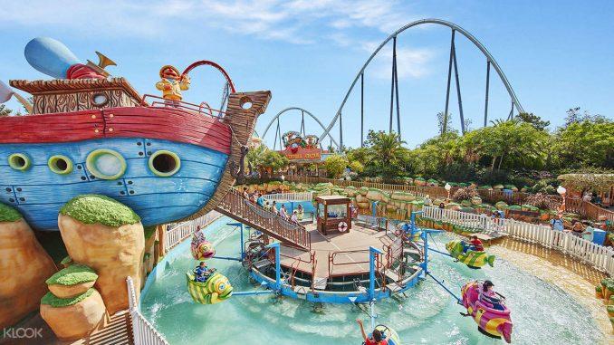 PortAventura Park สวนสนุกประจำเมืองบาร์เซโลน่าในสเปน