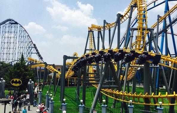 Six Flags México สวนสนุกยอดนิยมของอเมริกาบุกเม็กซิโก